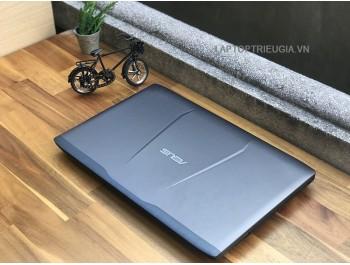 Laptop Asus GL552 GAMING GL552: Core I5-6300H| DDR4 8GB| SSD128G+ 500GB| Ndivia GTX960M| 15.6FHD IPS - Vỏ nhôm