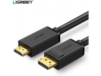 Cáp Displayport to HDMI 2M Ugreen 10202 chính hãng