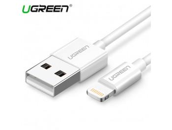 Dây Cáp Sạc điện thoại Iphone ipad Lightning 2.4A UGreen 20727 0.5M - UGreen 20727 US155
