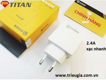 Củ xạc nhanh TIAN 2.4A chính hãng